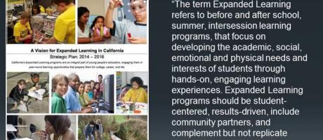 Newly Released State of the State of Expanded Learning in CA 2014-2015