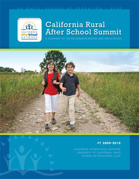 Strengthening california 39 s rural after school programs for Rural net cool ca