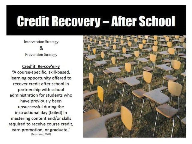 Older Youth Credit Recovery Webinar