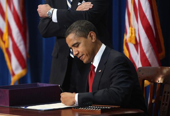 Image of ESEA Reauthorization Signed by President Obama