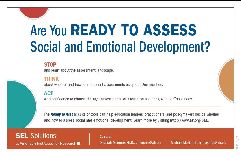 Image of Assessing Social and Emotional Development