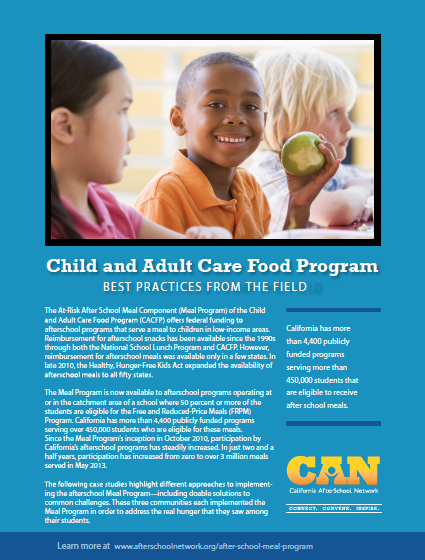 Image of After School Meal Program