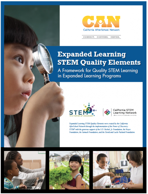 Image of Expanded Learning STEM Quality Elements