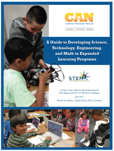 Image of A Guide to Developing STEM in Expanded Learning Programs