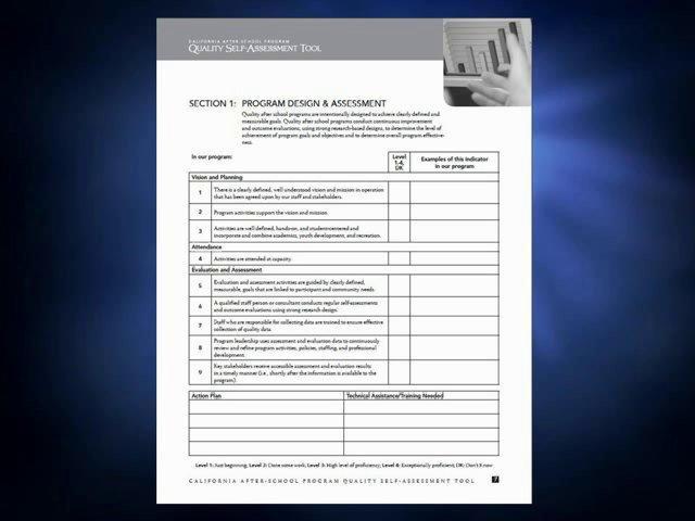 Program Design and Assessment