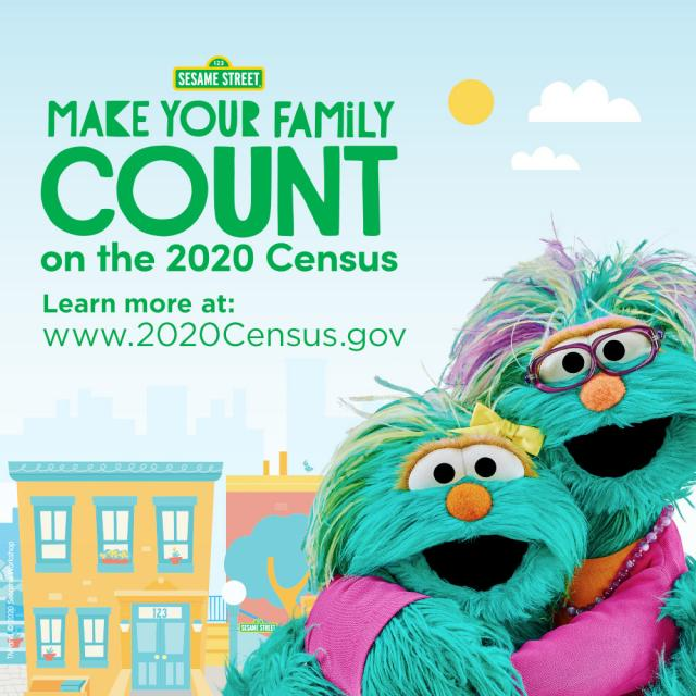 Make your family count on the 2020 census. Learn more at www.2020census.gov