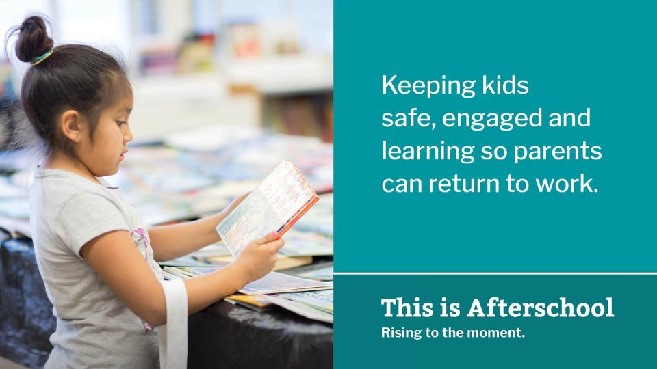 Keeping kids safe, engaged, and learning so parents can return to work.