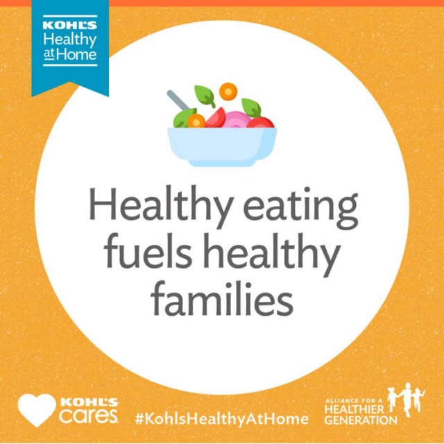 Healthy eating fuels healthy families