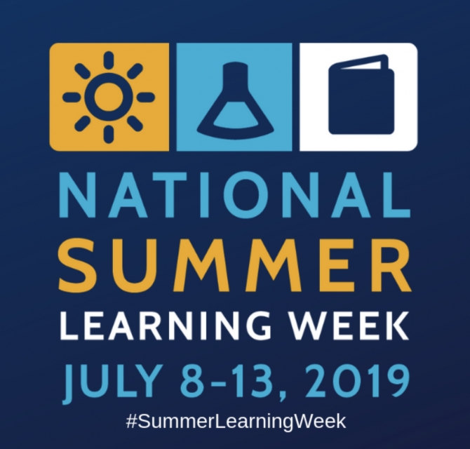 National Summer Learning Week 2019 Graphic