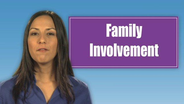QSA Section 8: Family Involvement