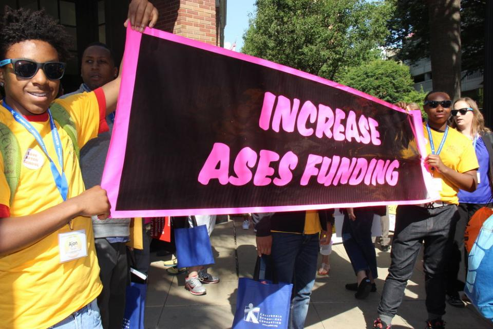 Increase ASES funding