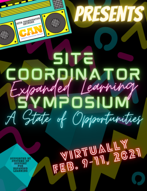 Site Coordinator Symposium flyer