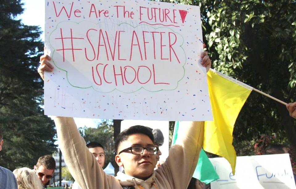 #SaveAfterschool