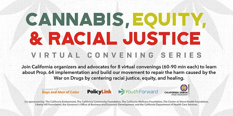 Cannabis, Equity, and Racial Justice Logo