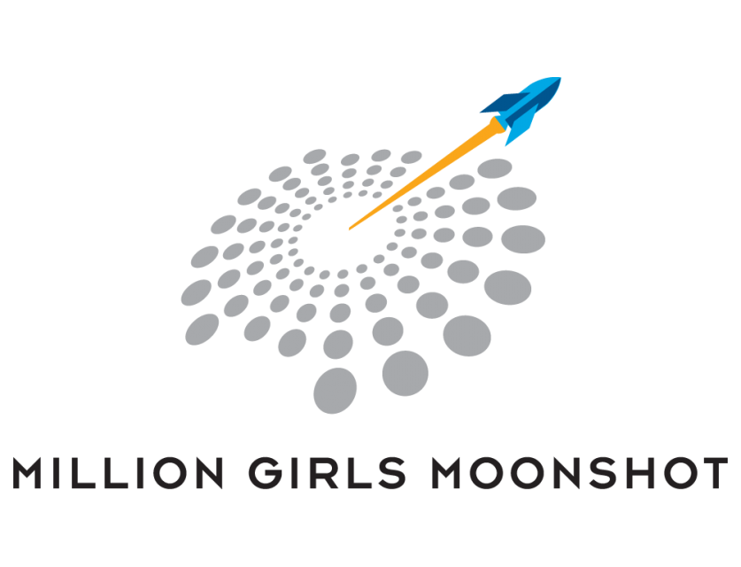 Million Girls Moonshot Logo