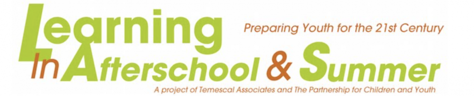 Logo: Learning in Afterschool and Summer