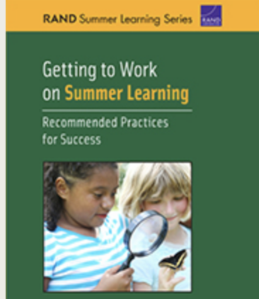 Best Practices for Running High Quality Summer Programs