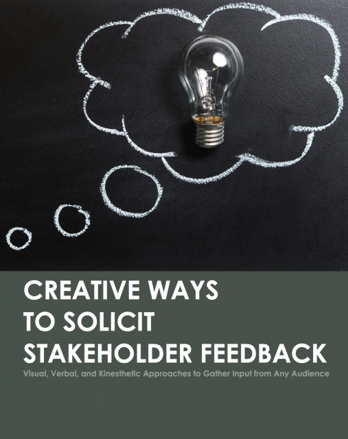 Cover of Creative Ways to Solicit Feedback Equitably
