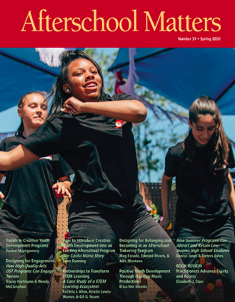 Afterschool Matter cover of publication
