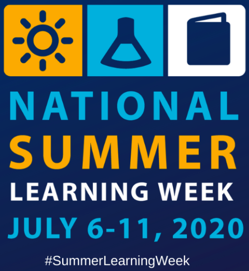 Summer learning week flyer with dates