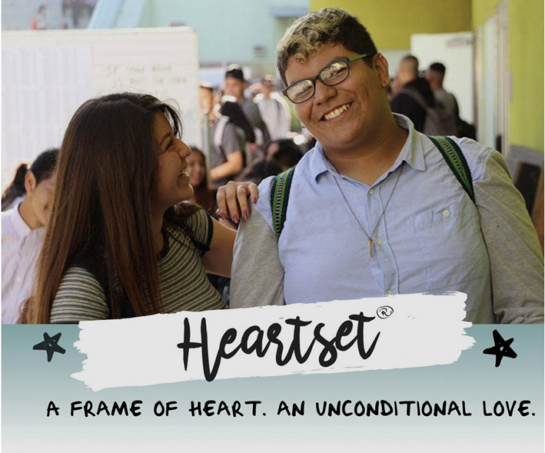 Heartset, A Frame of Heart. An Unconditional Love.