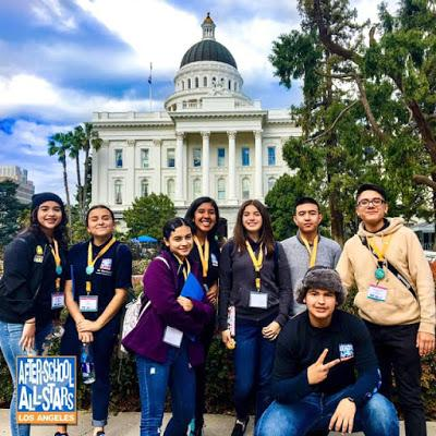 TACA Students at California Capitol